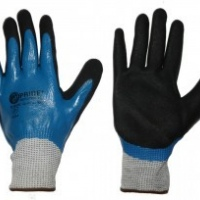 hppe fully dipped shell high cut & abrasion gloves