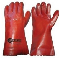 pvc fully coated long cuff gloves