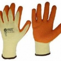 pride high grade polyster shell gloves