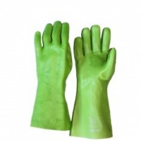 pvc top padded gloves
