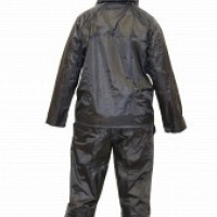 navy blue 2p rain suit
