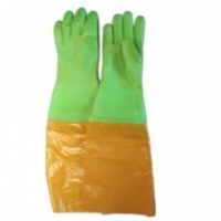 pvc elbow lenght gloves