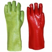 gloves pvc reinforced