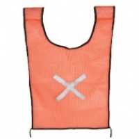 force orange saftey bib